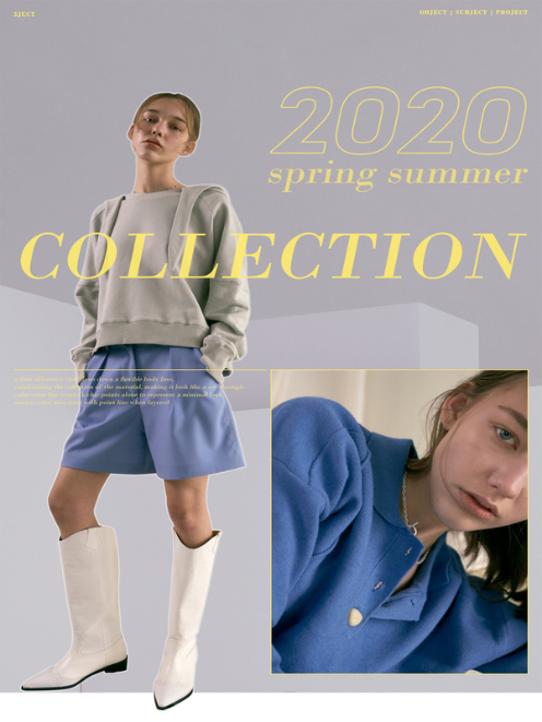 20SS 3JECT COLLECTION