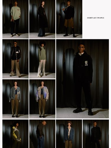 20FW ORDINARY PEOPLE COLLECTION