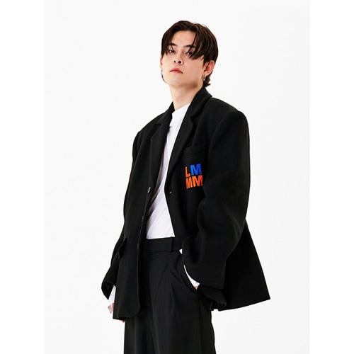 [라멀마메종] HEAVY BLAZER BLACK