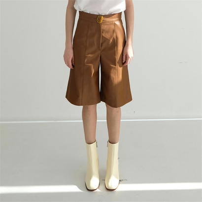 [더애쉴린] BERRY HIGHWAISTED SHORTS_CAMEL