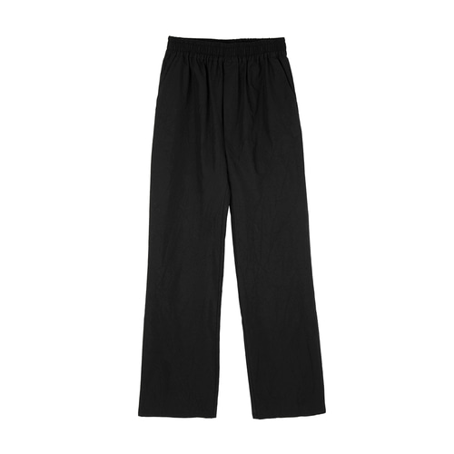 [e de] CREASE LONG PANTS_BK