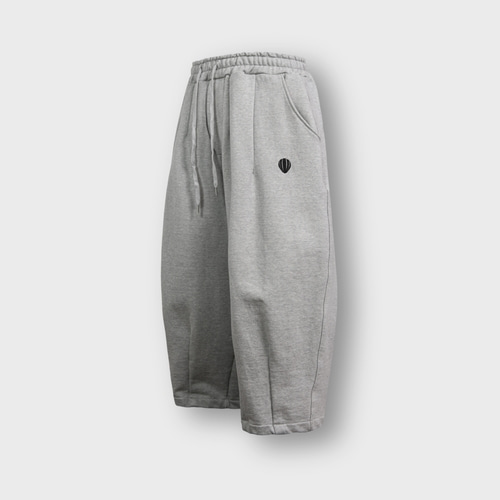 [앵글런] Heavy Sweat Balloon Pants - Grey