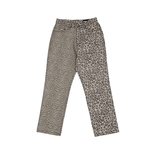 [아조바이아조]Leopard Washed Cotton Pants_Beige