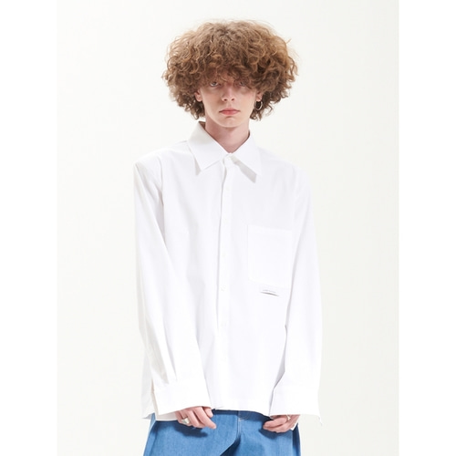 [라멀마메종] LMMM PAD SHIRT WHITE