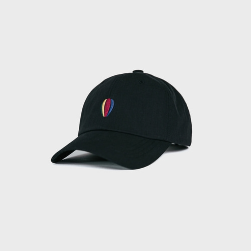 [앵글런] Signature Logo Ball Cap - Black