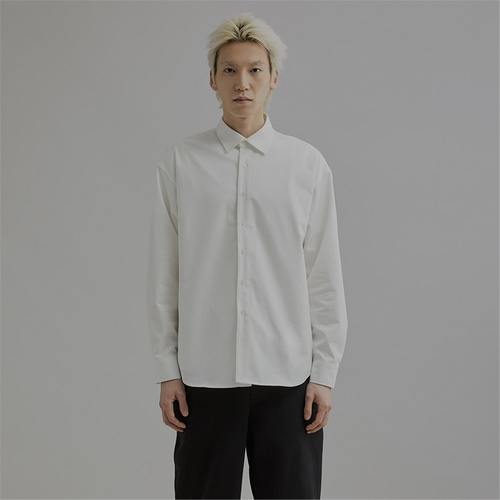 [END] OVERFIT LONG SLEEVE SHIRT_IV
