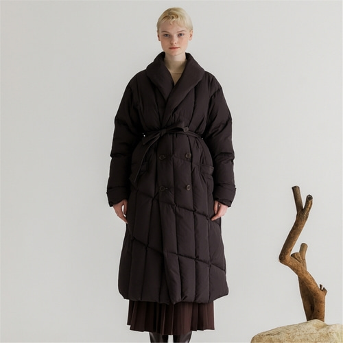 [나루강] Goose Down Long Coat_DB