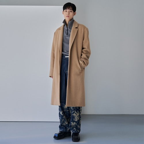 [END] D-TOWN BASIC OVER COAT_BE