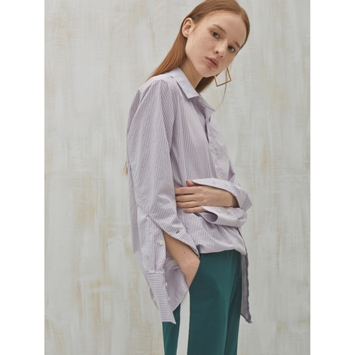 [2ndSWBD] OBLIQUE SLEEVES SHIRT_PP S/T