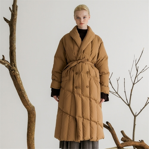 [나루강] Goose Down Long Coat_CB