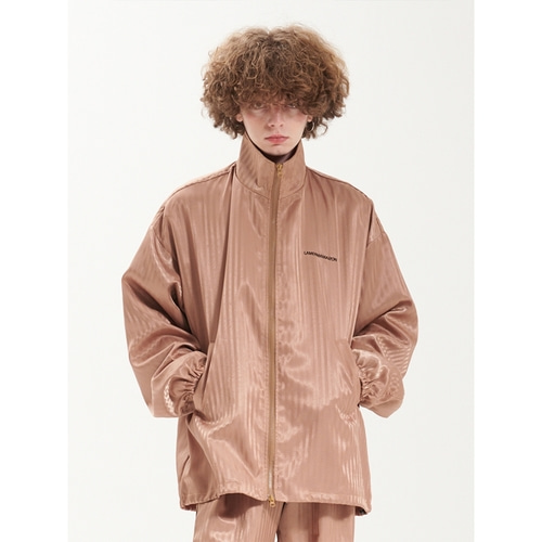 [라멀마메종] ZIGZAG ZIP-UP JUMPER BEIGE